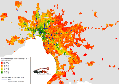 Car ownership and good public transport