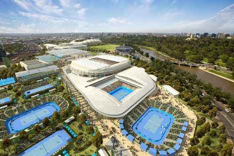 Melbourne Park redevelopment stage 1