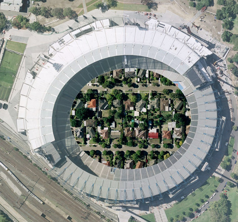Doncaster 'snapshot' overlayed onto the MCG